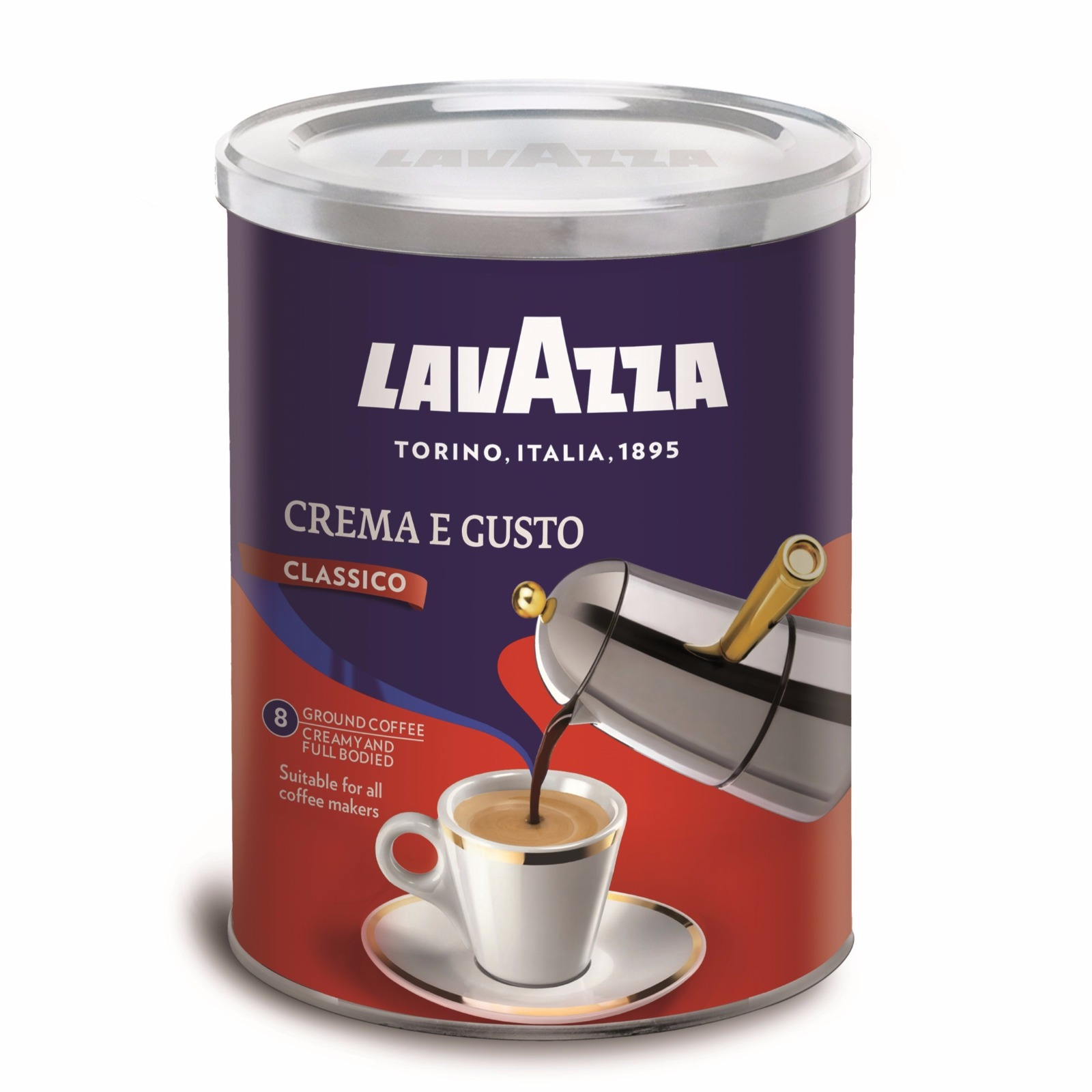 кофе лавацца крема густо