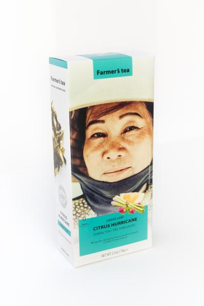 Вьетнамский чай Farmer's tea Citrus Hurricane, 70г