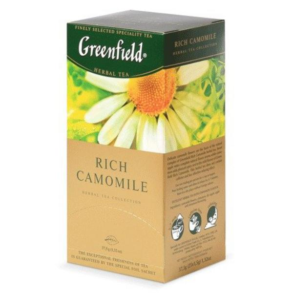 Чай Greenfield Rich Camomile травяной 1,5x25п