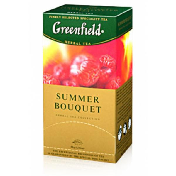 Чай Greenfield Summer Bouquet ароматный, 2x25п