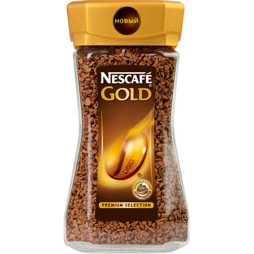 Растворимый кофе Nescafe Gold, 190 гр.