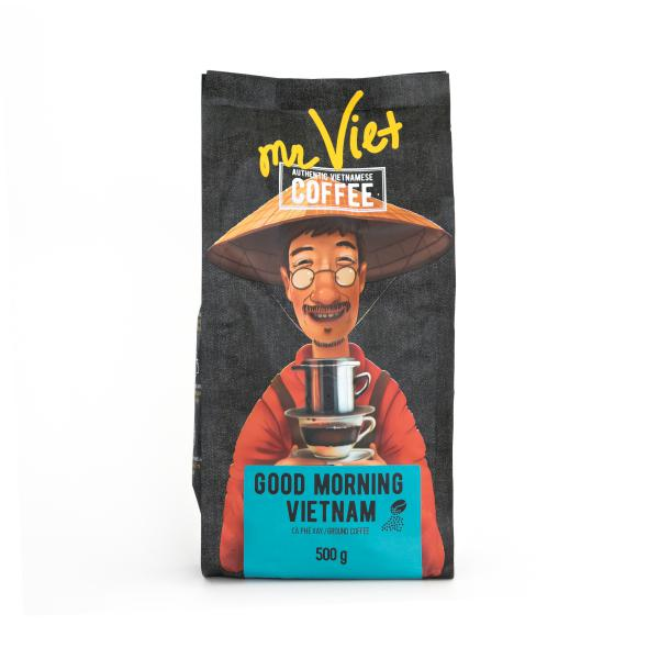 Кофе в зернах Mr. Viet Good morning, Vietnam 500г