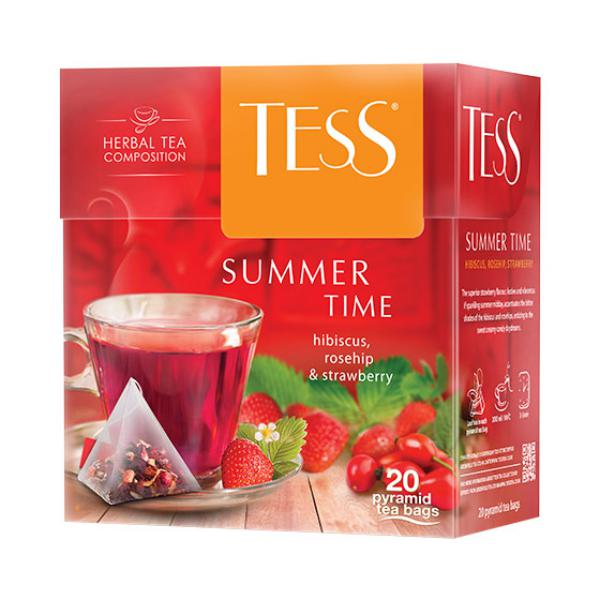 Чай Tess Summer Time фруктовый, 2x20п