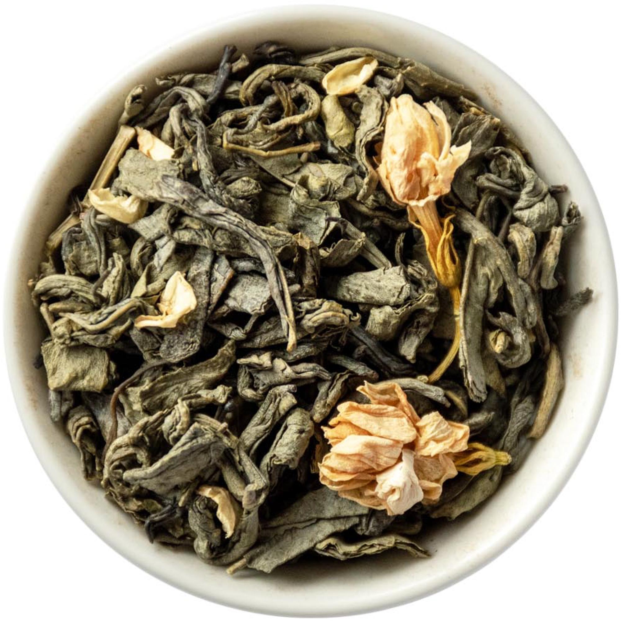 китайский зеленый чай из женьшеня